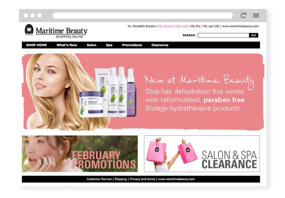 maritime-beauty-shop-ecommerce-b2b-homepage